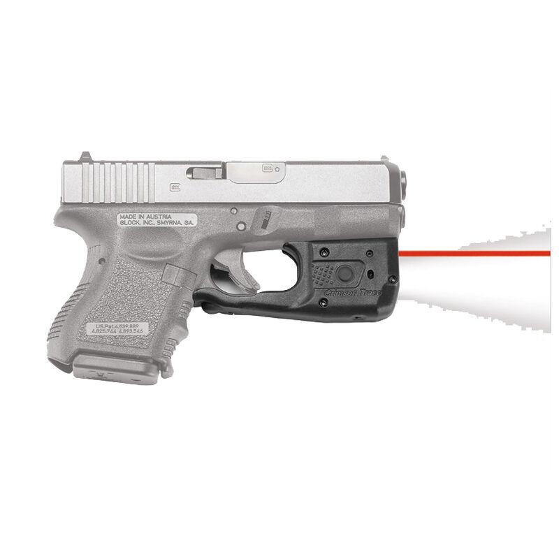 Crimson Trace LaserGuard LL-801 Pro Light/Laser Combo GLOCK 26/27/33/36 150  Lumen LED White Light/5mW Red Laser Polymer Housing Matte Black
