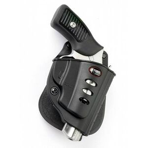 Fobus Evolution Holster Ruger LCR,SP101/Charter Arms Bulldog Right Hand Roto-Paddle Attachment Polymer Black