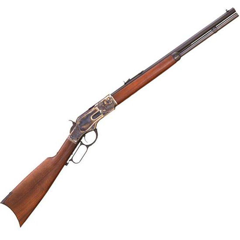 "Cimarron Firearm Company 1873 Short Lever Action Rifle .45 Colt 20"" Barrel 10 Rounds Walnut Stock Blued Finish CA281"