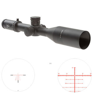 Trijicon AccuPower 4.5-30x56 FFP Long-Range Riflescope with Red/Green MOA Crosshair, 34mm Tube