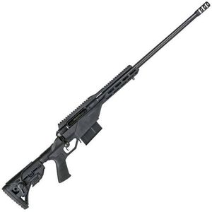 "Savage 10/110 BA Stealth .338 Lapua Mag Bolt-Action Rifle, 5 Rounds, 24"" Barrel, Matte Black"