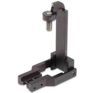 Williams Fire Sight AR-15 Fiber Optic Sight Adjustable For Elevation Green Steel/Aluminum Matte Black 70229