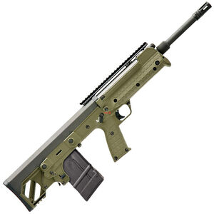"Kel-Tec RFB Semi Auto Bullpup Rifle .308 Winchester 18"" Barrel 20 Round FAL Compatible Magazine Ambidextrous Controls Forward Ejection Synthetic Stock OD Green Finish"