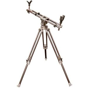"Caldwell Deadshot Magnum Fieldpod 18""-60"" Aluminum Tripod With Bubble Level Matte Finish 488-111"
