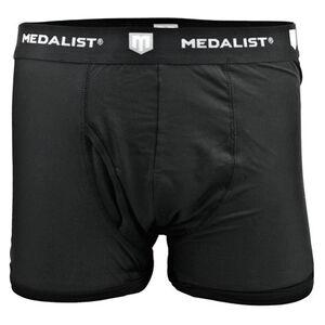 Medalist Men's Tactical Shield Boxer Briefs Polyester/Spandex XL Black 2 Pack M4635BLXL