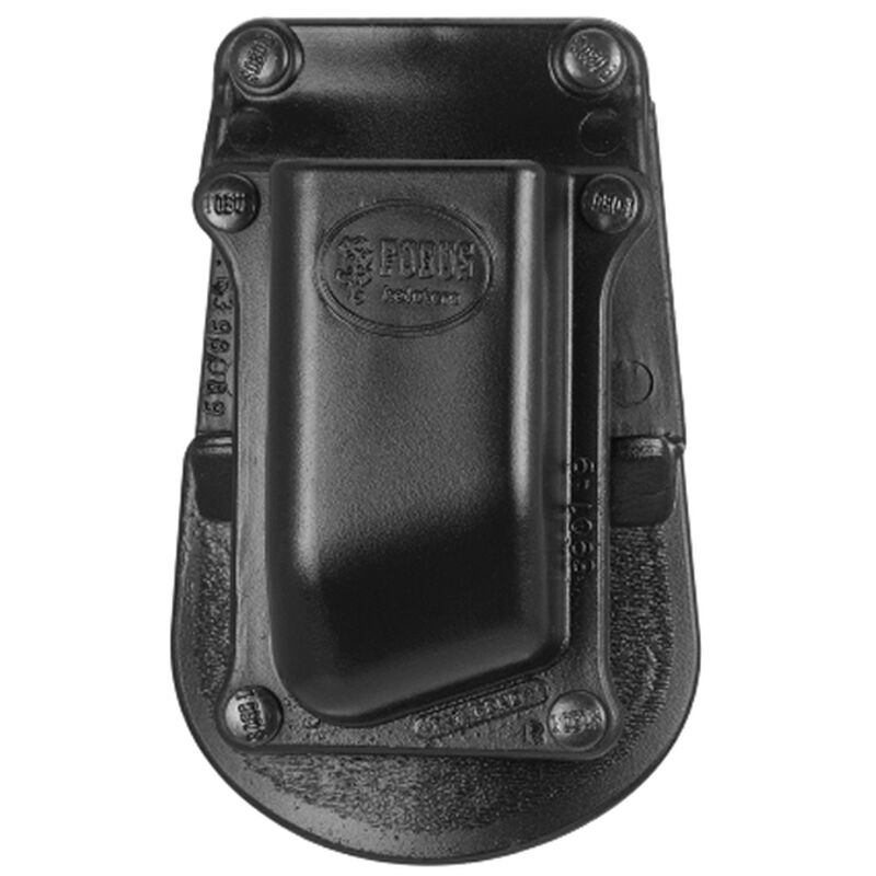 Fobus Single Magazine Pouch 9mm/.40 S&W Double Stack Magazines Right Hand Paddle Attachment Polymer Black