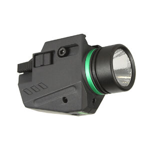 JE Machine 150 Lumens Cree LED Flashlight and Green Laser with Mount