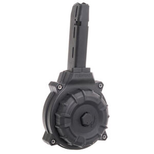 PROMAG Fits GLOCK  22/23 .40 S&W (50) RD DRUM BLACK POLYMER DRM-A19