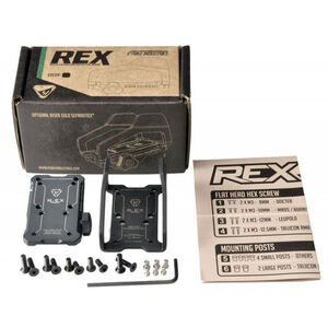Strike Industries Reflex Exoskeleton Universal Reflex Optic Mounting Pattern Matte Black Finish SI-REX