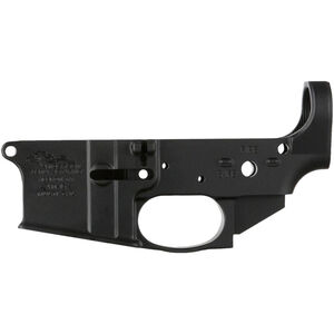 Anderson Manufacturing AR-15 Stripped Lower Receiver Multi-Caliber Closed Trigger Mil-Spec 7075-T6 Aluminum Anodized Matte Black