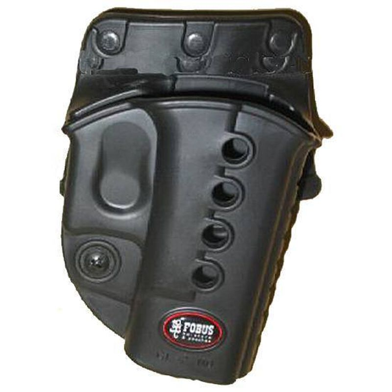 FOBUS Evolution Belt Holster for 1911 with Rails Right Hand Black R1911BH