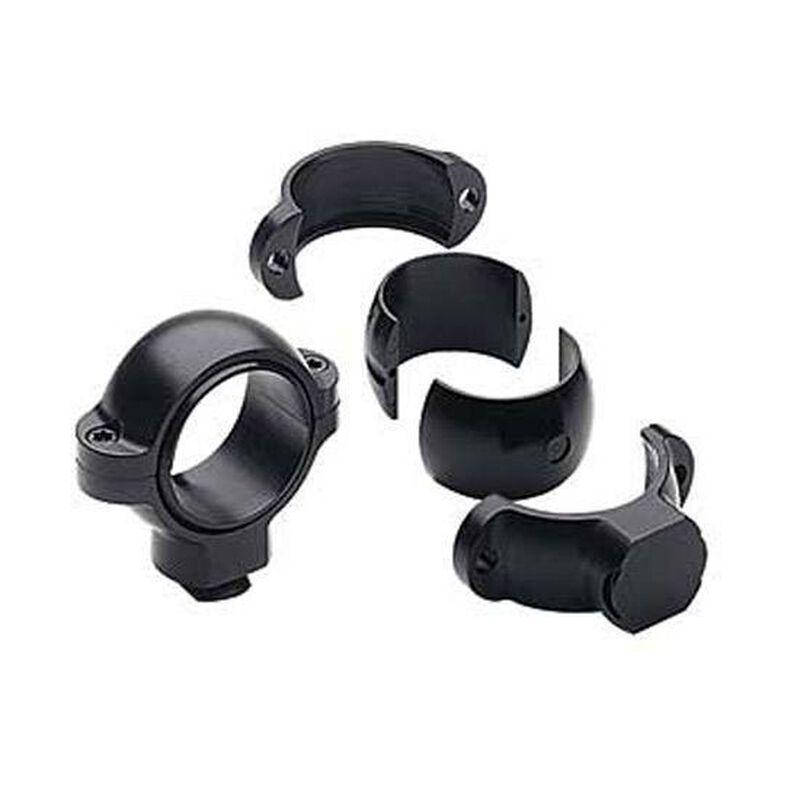 "Burris Signature Series Steel Medium Rings 1"" Tube Diameter .77"" Height Steel Matte Black 420501"