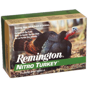 "Remington Nitro Turkey 20 Gauge Ammunition 5 Rounds 3"" #5 Lead 1.25oz 1185 fps"