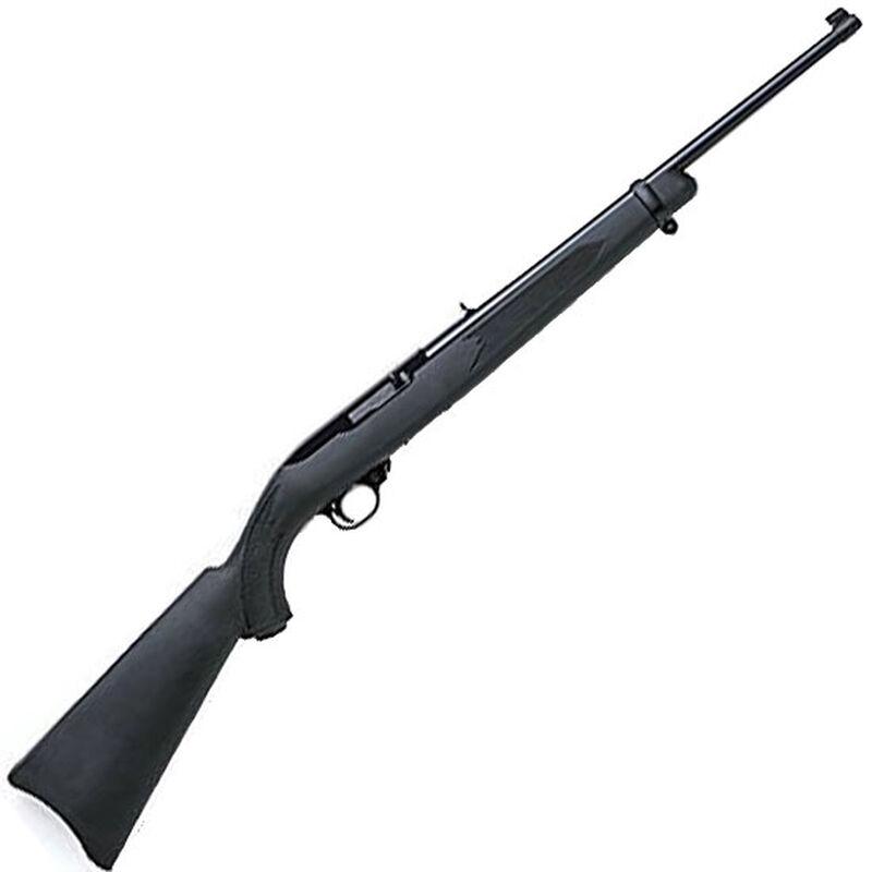"Ruger 10/22 Semi Auto Rifle .22 LR 18.5"" Barrel 10 Rounds Black Synthetic Stock Black Matte Finish 1151"
