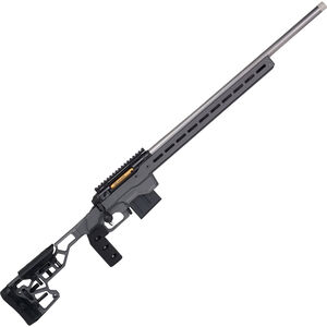 "Savage Firearms 110 Elite Precision .338 Lapua Magnum Bolt Action Rifle 30"" Barrel 5 Rounds Magazine MDT ACC Chassis Cerakote Grey"