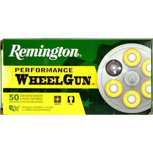 Remington Performance Wheelgun .38 Special Ammunition 50 Rounds 148 Grain Lead TMWC 710fps