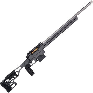 "Savage 110 Elite Precision .300 Win Mag Bolt Action Rifle 30"" Stainless Barrel 5 Rounds Adjustable Chassis with MLOK and ARCA AICS Compatible Gray/Flash Nitride Finish"