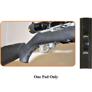 God'A Grip Small to Medium Finger Grip for Rifle Stocks Synthetic Sorbothane Black