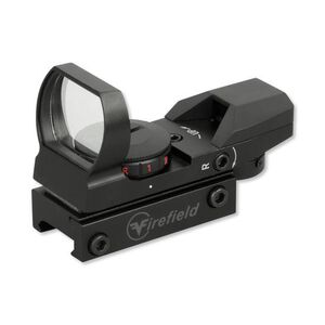 Firefield Multi Reflex Sight Red and Green Dot Aluminum Matte Black FF13004
