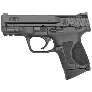 "S&W M&P9 M2.0 Sub Compact 9mm Luger Semi Auto Pistol 3.6"" Barrel 12 Rounds Manual Safety Armornite Finish Matte Black"