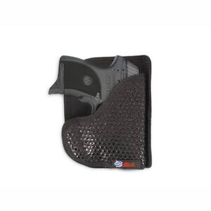 DeSantis M44 Super Fly Pocket Holster For GLOCK 26/Ruger LC9 With Laser Ambidextrous Nylon Black M44BJU4Z0