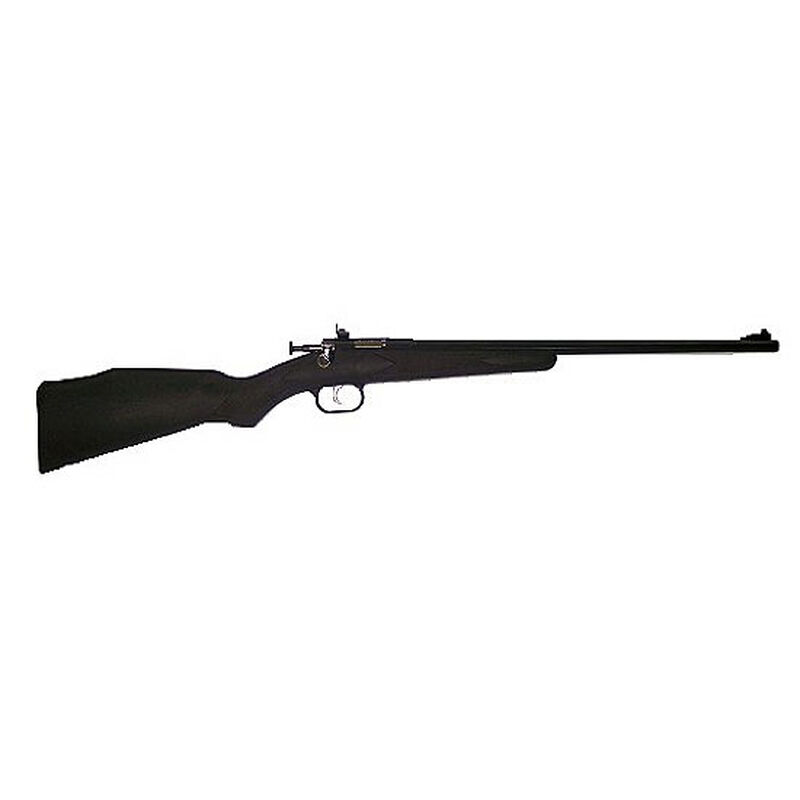 "Keystone Crickett Bolt Action Rifle .22 LR 16.125"" Single Shot Black Stock Blued Finish 240"
