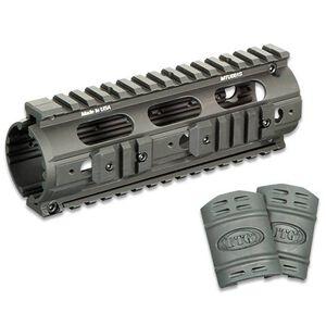 "Leapers UTG PRO AR15 Slim Rail Carbine Length Drop In Handguard 7"" Aluminum Black MTU001S"