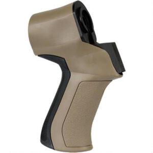 ATI Moss/Rem/Sav/Win 12 Gauge T3 Shotgun Rear Pistol Grip with X2 Recoil Reduction in Flat Dark Earth