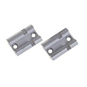 Weaver Top Mount Base Pair Remington 700 Silver
