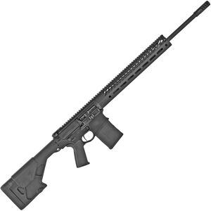 "Seekins Precision SP10 6mm Creedmoor AR-308 Style Semi Auto Rifle 22"" Barrel M-LOK Compatible Free Float Handguard Adjustable Fixed Stock Black Finish"