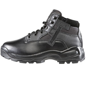 """5.11 Tactical A.T.A.C. 6"""" Side Zip Boots Leather Nylon 9.5 Regular Black 12018"""