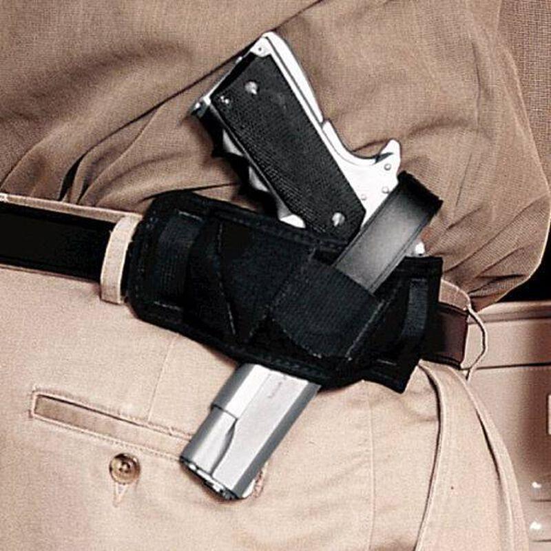 Uncle Mike's Ambidextrous Side Bet Belt Slide Holster Autos & Revolvers Nylon Black