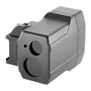iRay USA InfiRay ILR-1000 Infrared Laser Rangefinder Works with Rico Mk1 Thermal Rifle Scopes Rail Mount 1000 Yards Aluminum Black