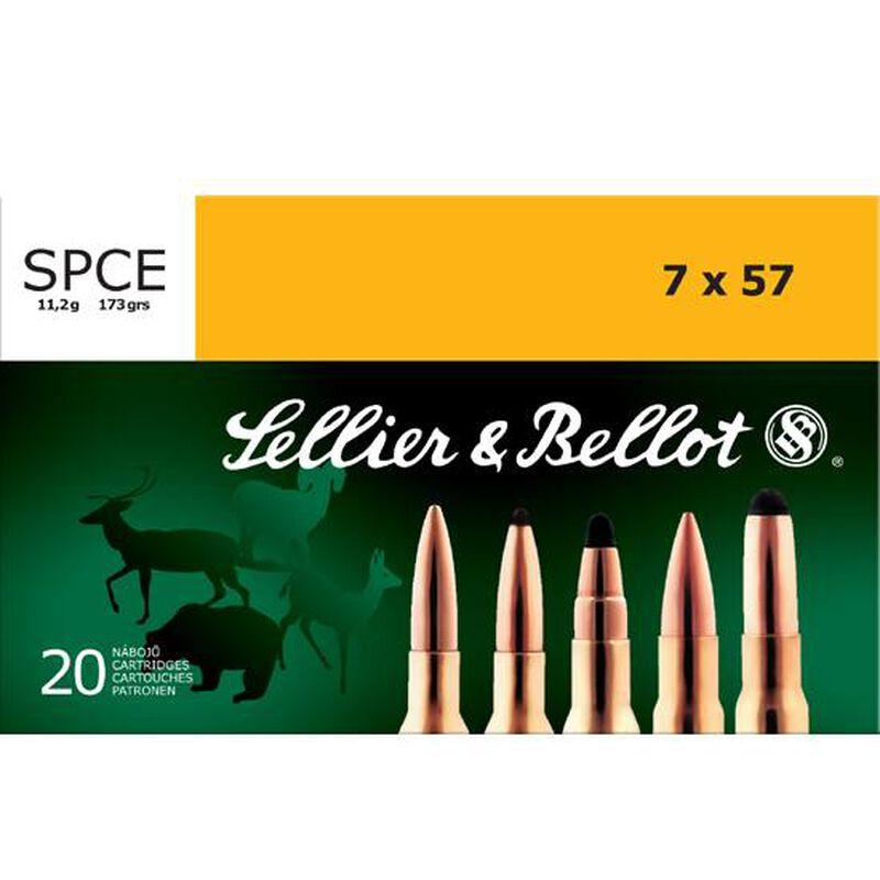Sellier & Bellot 7x57mm Mauser Ammunition 20 Rounds SPCE 173 Grains SB757C