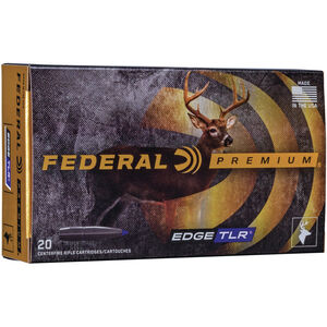 Federal Premium Edge TLR .270 WSM Ammunition 20 Rounds 140 Grain Edge TLR Polymer Tipped Bullet 3200fps