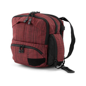 Vertx Essential 2.0 EDC Bag Heather Red And It's Black F1 VTX5031 HRD/IBK