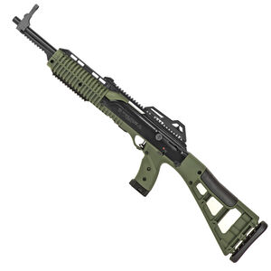 "Hi-Point Carbine .45 ACP Semi Auto Rifle 17.5"" Barrel 9 Rounds Polymer Stock Olive Drab Green Finish"