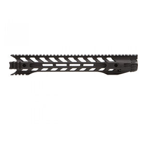 "Fortis Manufacturing Night Rail AR-15 556MM Free Float Rail System 14"" M-LOK Aluminum Anodized Black"
