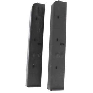 Original Uzi 32 Round Surplus Magazine 9mm Luger Steel Matte Black Finish