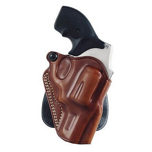 Galco Speed Paddle Holster S&W J Frame, Charter Arms Undercover, Taurus 85/85CH Right Hand Leather Tan SPD158