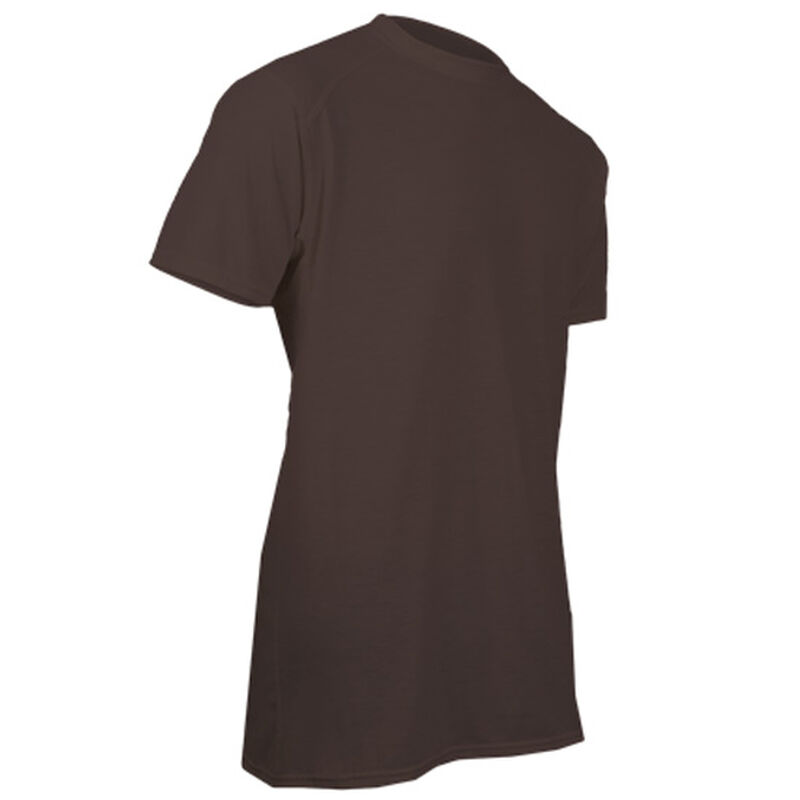 XGO FR Phase 1 Men's Flame Retardant Short Sleeve T-Shirt Small Modacrylic and FR Rayon Blend Coyote