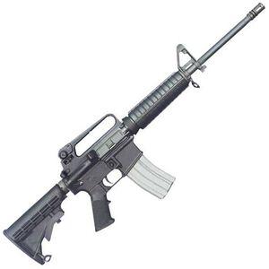 "Bushmaster A2 Heavy Barrel Semi Automatic Carbine .223 Remington/5.56x45mm NATO 16"" Heavy Barrel 30 Rounds Black M4 Collapsible Buttstock Black Anodized Finish"