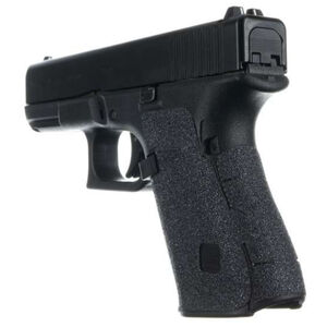 Talon Grips for GLOCK 19 Gen 5 Medium Backstrap Textured Granulated Adhesive Grip Matte Black