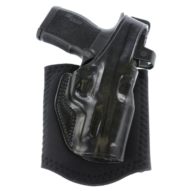 Galco Ankle Glove Right Hand Ankle Holster for Sig P365XL w/o Red Dot Black