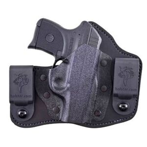 DeSantis Intruder IWB Holster Kimber Solo Carry Right Hand Kydex/Leather Black 105KAX3Z0