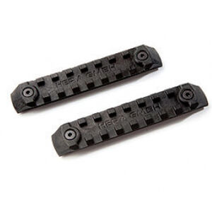 HERA Arms USA P-KMRS Polymer KeyMod Rail System 2 Rail Pieces Per Package Polymer Matte Black