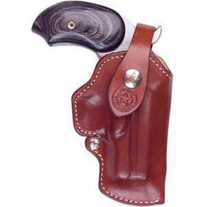 """Bond Arms 3.5"""" Texas Defender Premium Clip On Leather Holster Tan Leather Right Hand BMT-CLIPON-RH"""