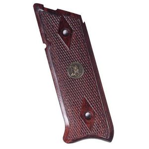 Pachmayr Ruger MKII/III Laminate Grips Checkered Rosewood