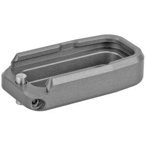 Taran Tactical GLOCK 43 +1 Base Pad Titanium Gray