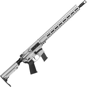 "CMMG Resolute 300 MkG .45 ACP AR-15 Semi Auto Rifle 16"" Barrel 26 Rounds Uses GLOCK Style Magazines RML15 M-LOK Handguard RipStock Collapsible Stock Titanium Finish"